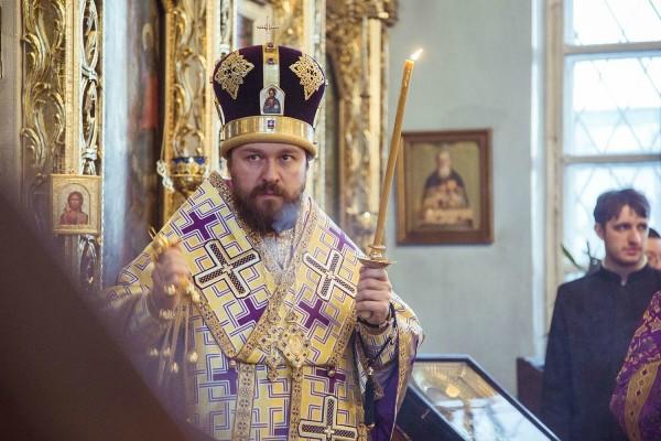 Metropolitan Hilarion of Volokolamsk visits Kazan Theological Seminary