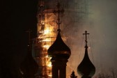 Fire in Novodevichy Convent bell tower did not damage building