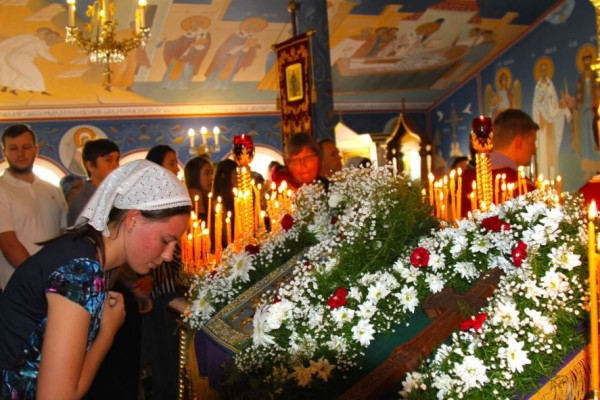 "The Kursk-Root Icon of the Mother of God ""of the Sign"" Visits Queensland, Australia"