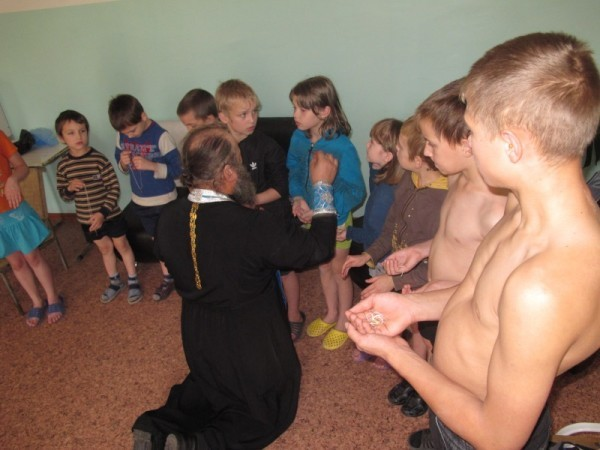 Sacrament of Baptism in the Novosibirsk Quarantined Children's Tuberculosis Sanatorium No. 2