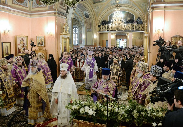 Primate of Russian Church celebrates Liturgy at Convent of Protecting Veil of the Mother of God on the 2nd Sunday of Lent