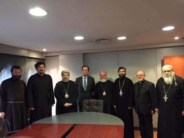 Assembly of Orthodox bishops in Spain and Portugal meets in Madrid