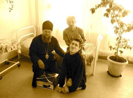 At the Dubrovinsky psycho-neurological boarding school.