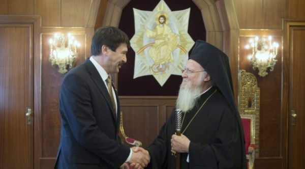 Hungarian President meets Patriarch of Constantinople in Istanbul