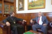 Metropolitan Hilarion meets with Cuba's Ambassador to Russia