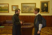 Metropolitan Hilarion meets with the newly-appointed ambassador of Poland to Russia