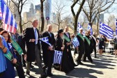 Greek Parade Takes Over Fifth Avenue in New York City