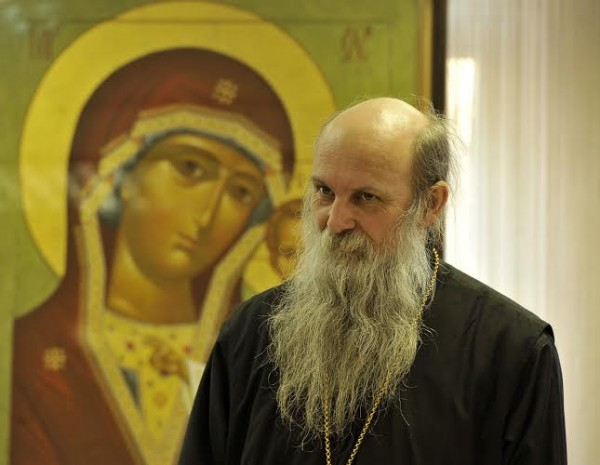 Bishop Jovan of Slavonia visits Moscow