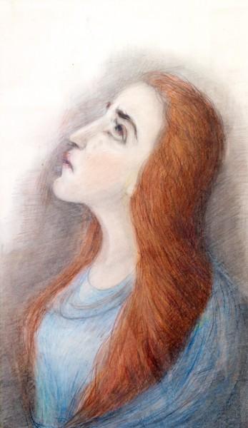 A Girl, Death, and God (+Photos)