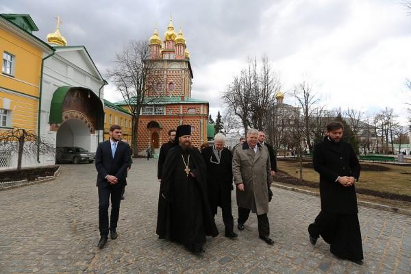 US Ambassador John Tefft visits St Sergius's Laura of the Trinity