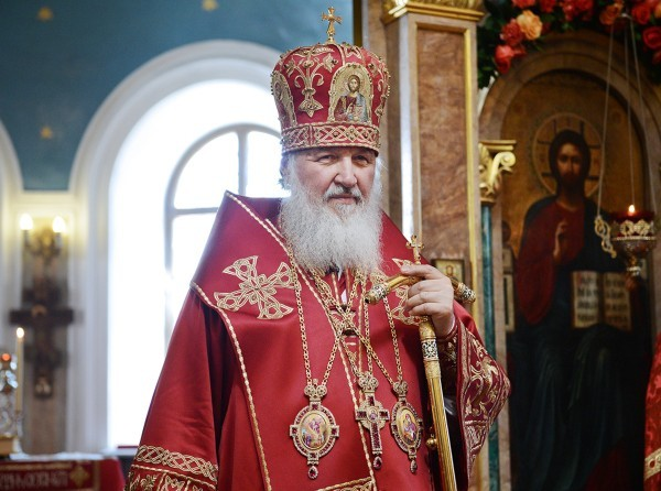 His Holiness Patriarch Kirill greets heads of foreign states with Easter
