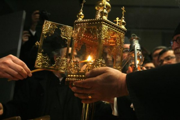 """Holy Fire"" to be taken to monasteries in Kosovo"