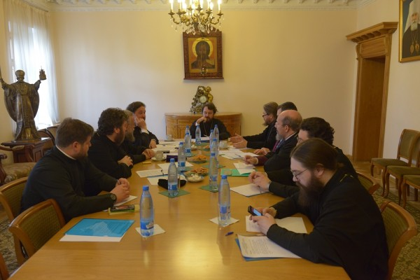 Organizing committee for celebration of the 1000th anniversary of st. Vladimir's demise holds its regular session
