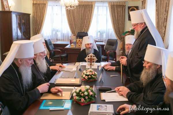 Meeting of the Holy Synod of the Ukrainian Orthodox Church