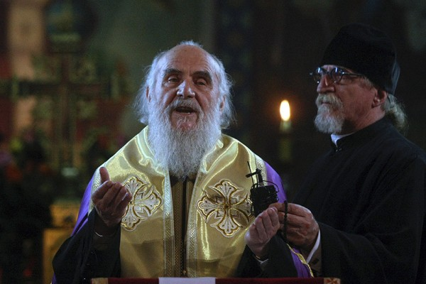 Patriarch Irinej Urges Believers To Pray For Peace