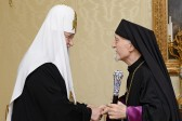 His Holiness Patriarch Kirill meets with the head of Armenian Catholic Church