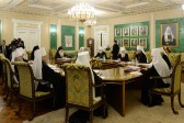 First in 2015 session of the Holy Synod takes place under chairmanship of his Holiness Patriarch Kirill