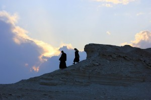 Descending the Mount of Olives: On…