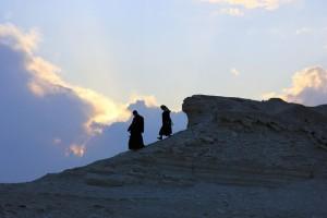 Descending the Mount of Olives: On…