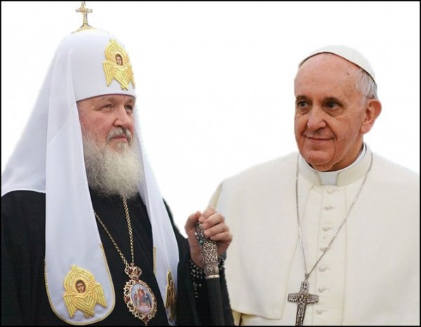 Pope Francis and Patriarch of Moscow concerned about political changes in the world