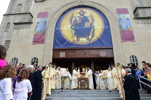 Archbishop Demetrios Presides over Consecration of Saint Sophia Cathedral in the Nation's Capital