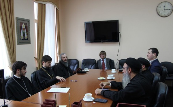 Meeting of the working group on academic cooperation between the Russian Orthodox Church and the Coptic Church