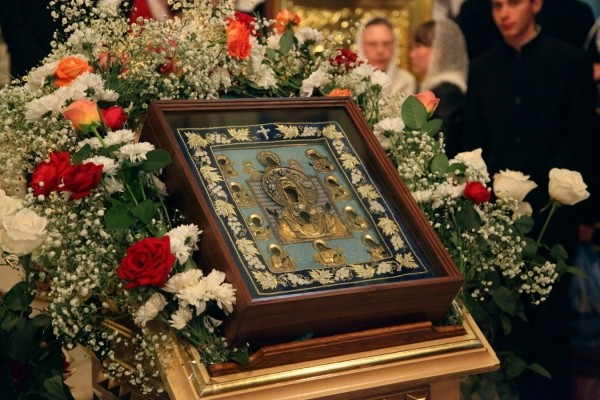"The Kursk-Root Icon of the Mother of God ""of the Sign"" Will Travel to the German Diocese"
