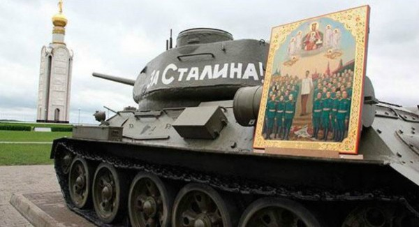 Russian Orthodox Church Outraged by Appearance of 'Stalin Icon'