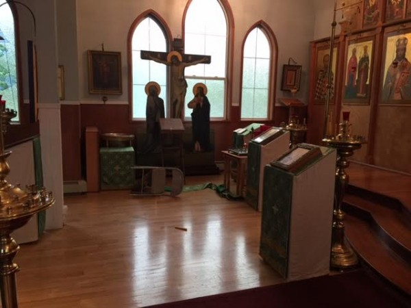 Kodiak's Holy Resurrection Cathedral vandalized