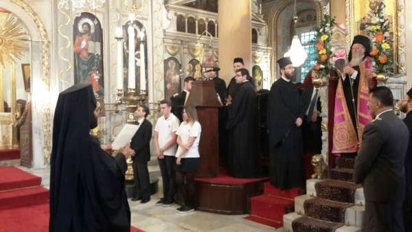 Moscow Patriarchate delegation attends Patriarch Bartholomew's Name Day celebrations