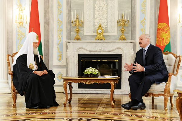 Lukashenko promises Patriarch Kirill to do his utmost to stop war in Ukraine