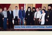 Patriarch John X of Antioch receives Russian delegation