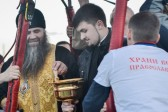 Russia: Bishop blesses city from hot air balloon