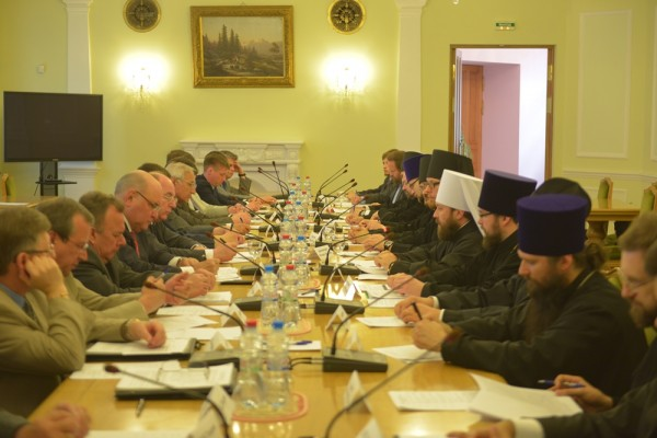 Working group for cooperation between Russian Orthodox Church and Ministry for Foreign Affairs holds its 20th meeting