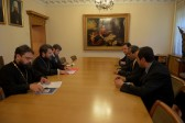 Metropolitan Hilarion of Volokolamsk meets with Ambassador of Saudi Arabia to Russia