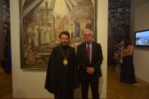 Metropolitan Hilarion attends the opening of an exhibition devoted to St. Vladimir Equal-To-The-Apostles