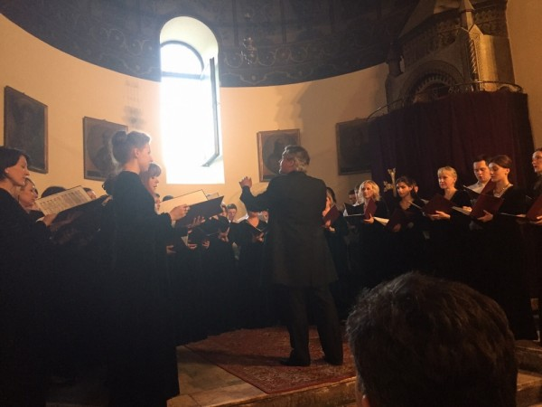 Moscow Synodal choir performs at Etchmiadzin