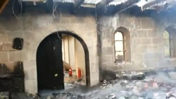 Extremists set fire to church in northern Israel