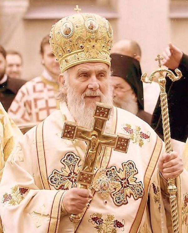 Serbian Patriarch Irinej Arrives in Canada