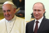 Russian Church hopes meeting between Putin, pope will help protect Christians in Middle East