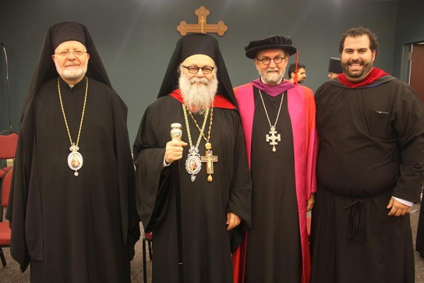Patriarch John X Stresses Unity, Peace, at St. Vladimir's Convocation