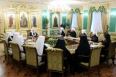Holy Synod of the Russian Orthodox Church meets for a regular session in St Petersburg
