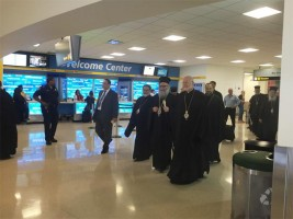 Patriarch John X Arrives in North…