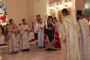 Patriarch John X Celebrates Divine Services…