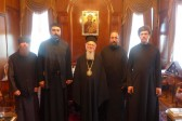 Students and Teachers of Holy Trinity Seminary Visit Phanar