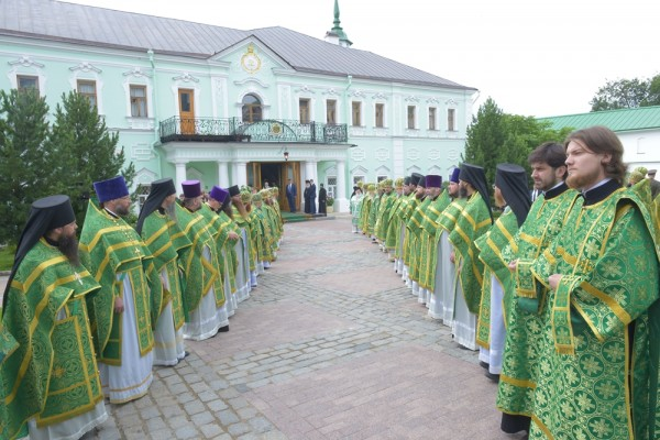 Metropolitan Hilarion: St Sergius is rightly called the Hegumen of the Russian land