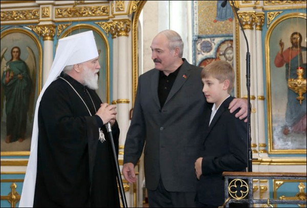 Belarus President thanked for support of traditional Christian values