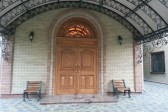 Shelling damages a diocesan building in Gorlovka
