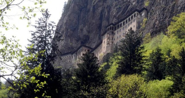 Black Sea monastery set to celebrate Orthodox Divine Liturgy