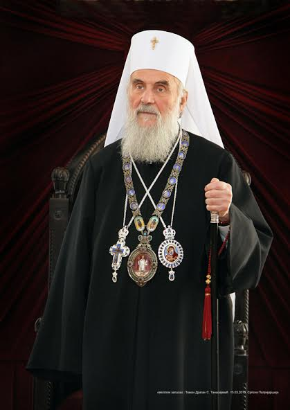 Serbian Patriarch Irinej to speak at St. Vladimir's Seminary September 11